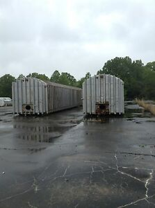 Used 40 000 Gallon Stainless Steel Horizontal Tank