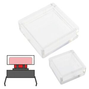 Clear Covers For Square Cap Tactile Switches For A14 A66 Caps 10 200pcs