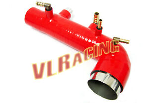 Subaru Wrx Sti Forester Ej20 Ej25 Bolt On Turbo Inlet Silicone Hose Red