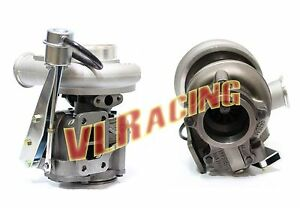 Super Drag Diesel Turbo For Cummins Turbo Dodge Ram Hx40w T3 Turbocharger
