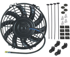 9 Inch 12v Auto Electric Fan Radiator Cooling Transmission Oil Cooler Universal