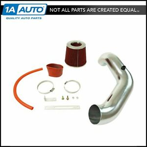 Performance Short Ram Air Intake Cai Assembly Red Filter For Honda Acura New