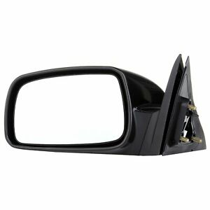 Left Black Smooth For 2007 2011 Toyota Camry Lh Power Driver Side View Mirror