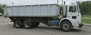 White Gm 1993 Packard Hook Roll Off Garbage Truck Rolloff 120054 Miles Wvs