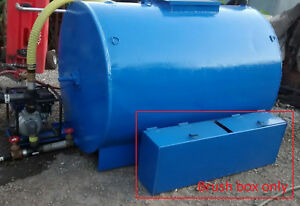 Asphalt Sealcoating Brush Box Squeegee Tank Broom Box