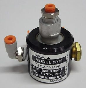 Amat 0010 39665 Lockout Valve Clippard Model 2012 Minimatic 3 way