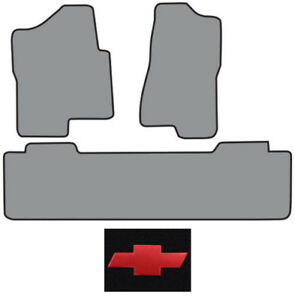 2001 2003 Chevrolet Silverado 1500 Hd Ext Cab 2pc Fronts 1pc Rear Logo Floor Mat