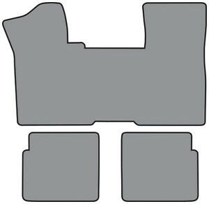 1979 1985 Oldsmobile Toronado 1pc Front 2pc Rear Cutpile Carpet Floor Mat