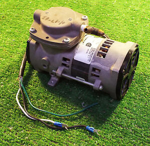 1 Used Thomas 107ca14 004a Compressor Vacuum Pump Make Offer