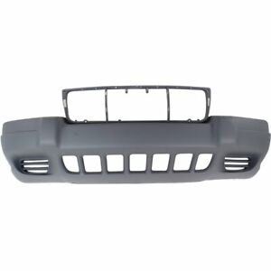 Front Bumper Cover For 1999 2003 Jeep Grand Cherokee Laredo sport Model Textured