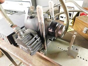 Haas 4th Axis Indexer 5c Collet Closer With Servo Controller And Sine Plate