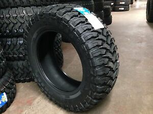 4 New Lt33x12 50 20 Ginell Mt Tires 10 Ply Mud 33 12 50r20 R20 1250 Offroad