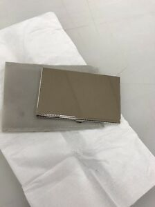 20 X Business Card Holder Lot Pocket Name Credit Id Box Metal Case