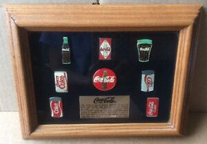 Coca Cola Pin Set ~Limited Edition *RARE (VERY LOW EDITION NUMBER 0062 of 1 000)