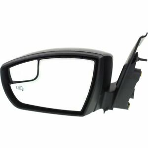 Mirror For 2013 2016 Ford Escape Left Side Manual Fold Heated With Memory