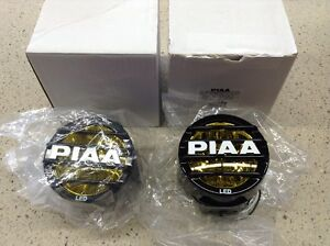 Piaa Lp530 3 5 Round Ion Yellow Led Fog Lights Pcs Set
