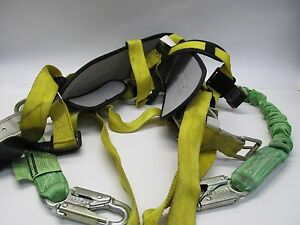 Miller Fall Protection Safety Harness Model 6414nh Size Large