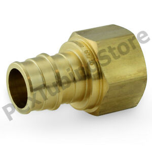 50 1 2 Pex X 1 2 Female Threaded F1960 Expansion Adapter Fitting Lf Brass