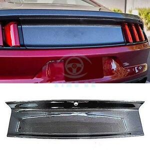 High Quality Trunk Garnish Replacement Hardtop Model Only For Ford Mustang 2015