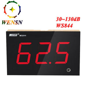 Wensn Digital Sound Level Meter 30 130db Decibel Meter Noise Measure Test Meter
