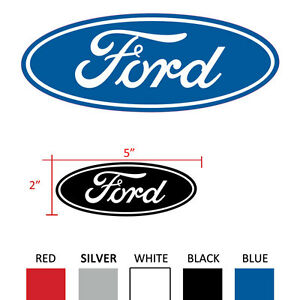 Ford Oval 5 Inch Decal