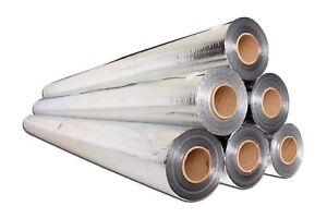 Heavy Duty Radiant Barrier Insulation Aluminum Foil 500 Sqft 4x125 Perforated