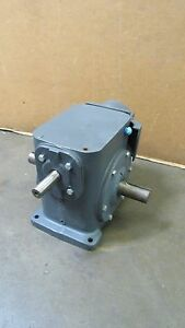 Browning 375u1lr40fe 40 1 Ratio 3 Way Right Angle Gearbox Speed Reducer