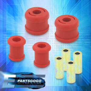For 01 05 Civic 02 06 Rsx Polyurethane Jdm Red Front Lower Control Arm Bushing