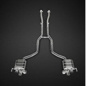 Capristo Bentley Continental Gt V8s Valved Exhaust System No Remote