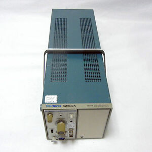 Tektronix Am 503 Current Probe Amplifier W Tm502a Mainframe Tested