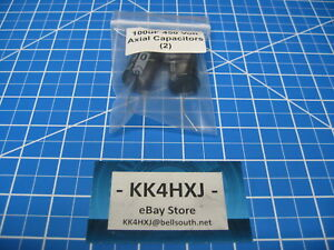 Sc Gha Series Axial Electrolytic Capacitors 450v 100uf 2 Pieces