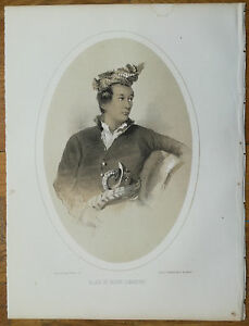 Perry Expedition To China Rajah Of Jahore Singapore 1857