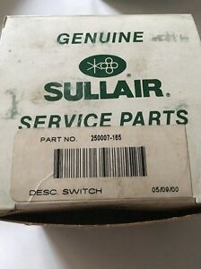 Sullair Pressure Switch 250007 165 30 300psi Oem new