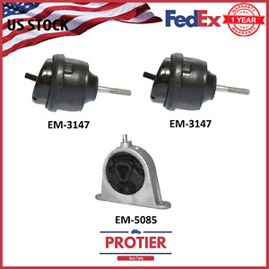 Engine Trans Mount Set For 2007 2008 Chrysler Pacifica 3 8 4 0l Auto
