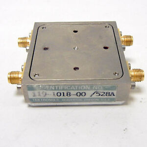 Tektronix 119 1018 00 528a Directional Filter Assembly 494 492 Spectrum Analyzer