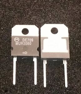 Mur3080 Motorola Diode 800v 30a Lot Of 12 New Old Stock c11b1