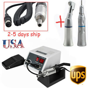 Dental Fit Marathon Micro Motor 30k Rpm Straight Handpiece Contra Angle Usa