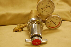 L tec Regulator Flow Meter Acetylene Oxygen Welding Cutting Systems Preowned