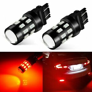 Jdm Astar 3157 3156 White 4014 48 Smd Car Turn Signal Tail Brake Light Led Bulbs