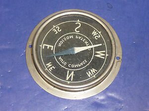 Vintage 1920 s Automobile Accessory Noisom Auto Compass Sct2