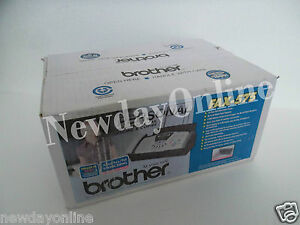 Brother Fax 575 Personal Plain Paper Fax Phone Copier 10 sheet Adf Caller Id New