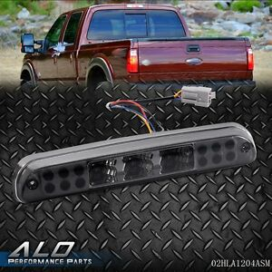 Smoke Led 3rd Third Brake Stop Lamp Light For F250 F350 F450 F550 99 15