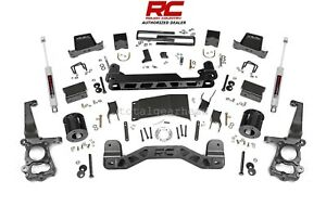 2015 2018 Ford F 150 Pickup 4wd 6 Rough Country Suspension Lift Kit 557 22