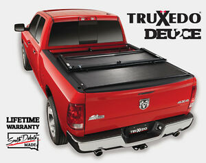 Truxedo Deuce Roll Up Folding Tonneau Cover Toyota Tundra 6 3 Bed W Bed Caps