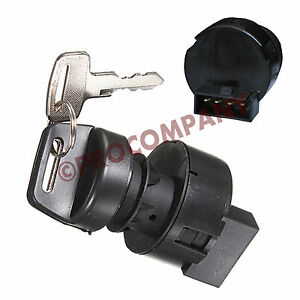 New Aftermarket 4 Pin Ignition Key Switch for Polaris ATVs
