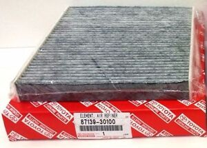 Lexus Oem Factory Charcoal Cabin Filter Air Filter 2014 2015 Is250 87139 30100