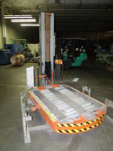 Spiropack Series Model R 125 Stretch Wrap Pallet Wrapper Wrapping Machine