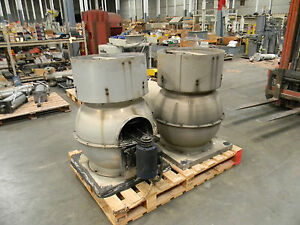 Industrial Restaurant Exhaust Fan Roof Top Two Units One Money