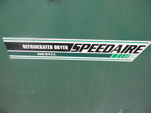 Speedaire Refrigerated Dryer dayton Electric