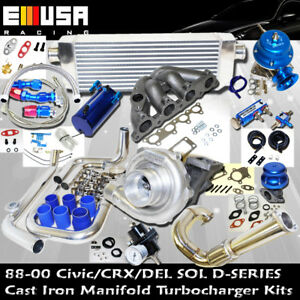 Complete Turbo Kit D Series For 93 95 Del Sol S 1 5l Sohc I 4 D15d16